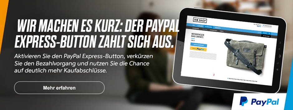 PayPal Express-Button