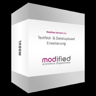 Textfeld und Dateiupload Erweiterung