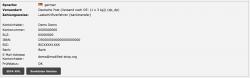 SEPA XML Export für Banktransfer